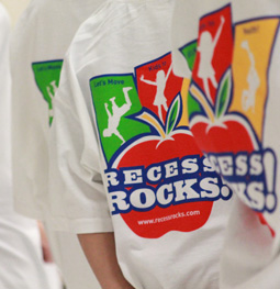 Recess Rocks T-Shirt Backs
